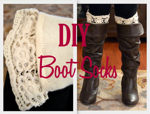 DIY Boot Socks Tutorial