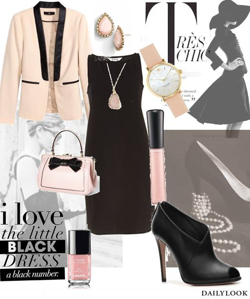 Little Black Dress Date Night Look