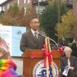 Burrell Ellis Dekalb CEO Attends North Dekalb Senior Center Ground Breaking