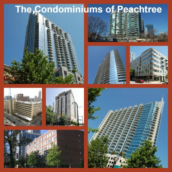 What Condos are on Peachtree Street in Midtown