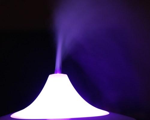 Smoke Humidifier Led Color Mood Light