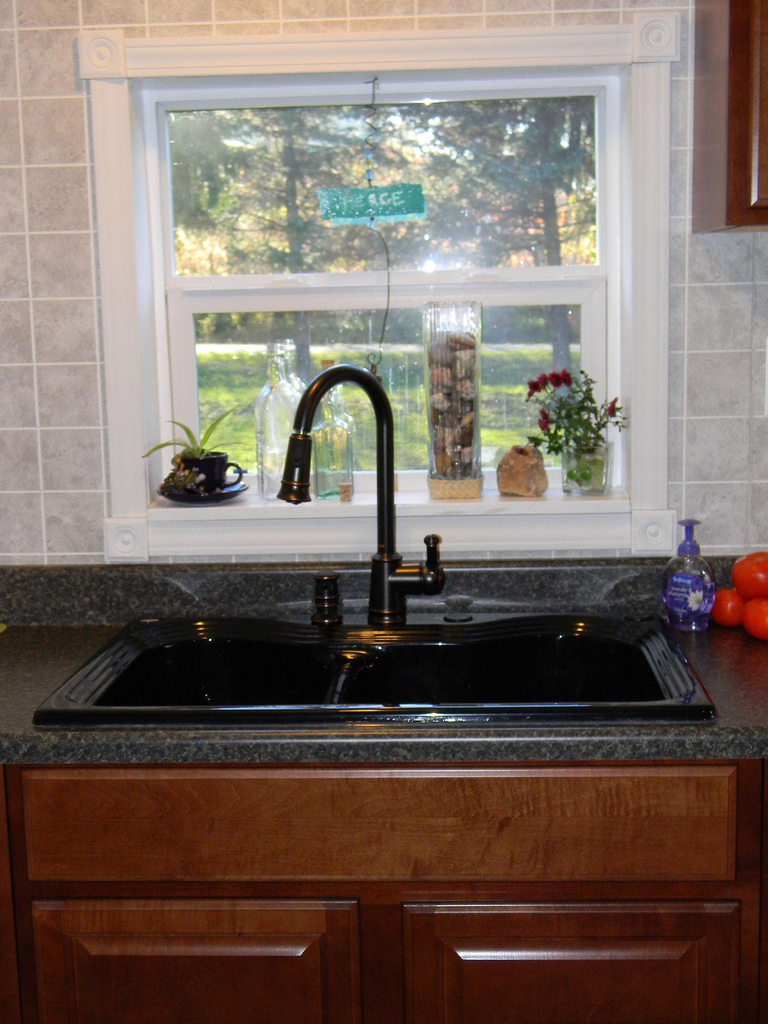 kitchensink mobile home kitchen remodel Kitchen Sink Mobile Home Kitchen Remodel
