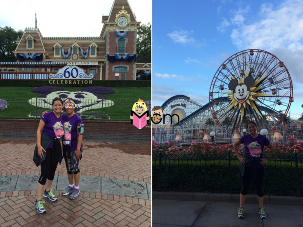 Stopping to take a photos in Disney AND California Adventure!