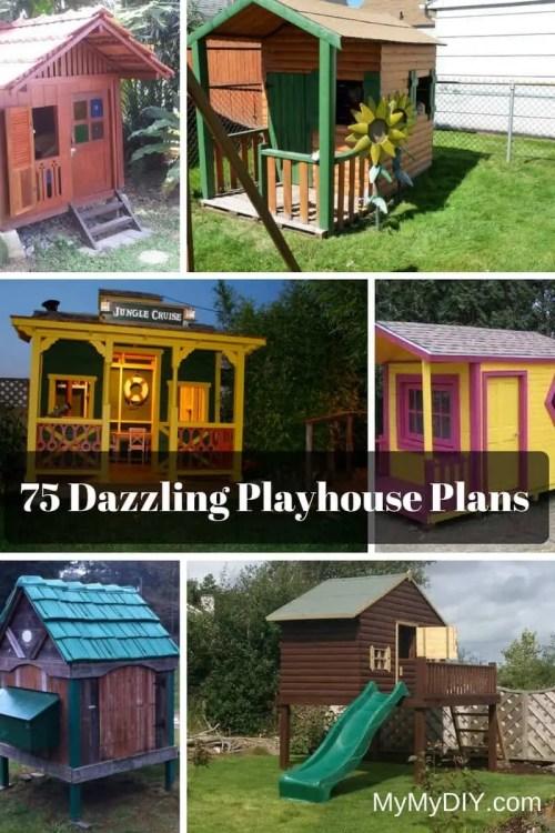 Medium Of Big Backyard Playhouse