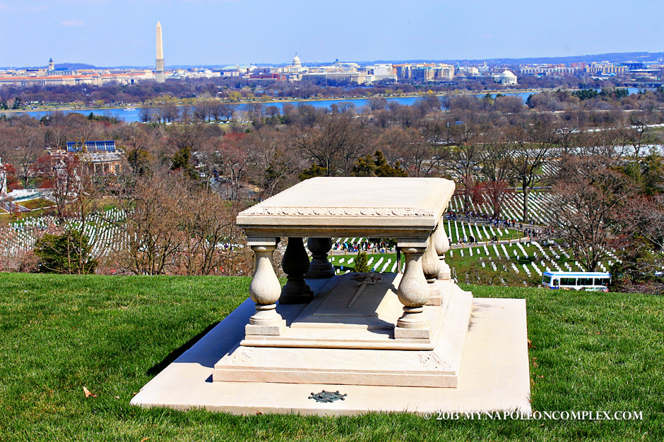 Tomb of Pierre Charles L'Enfant, famous for designing an architectural plan for the nation's capital.