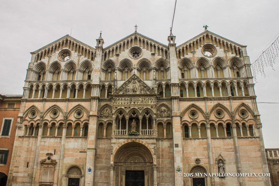 Picture of Cathedral of Ferrara.