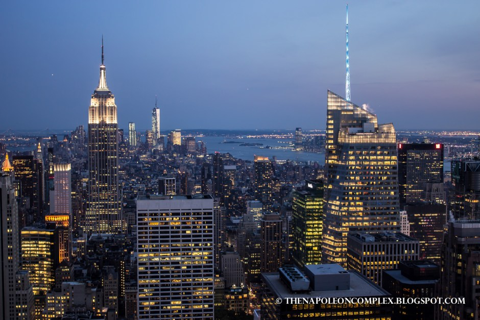 Picture of Empire State Building from Top of the Rock, NYC