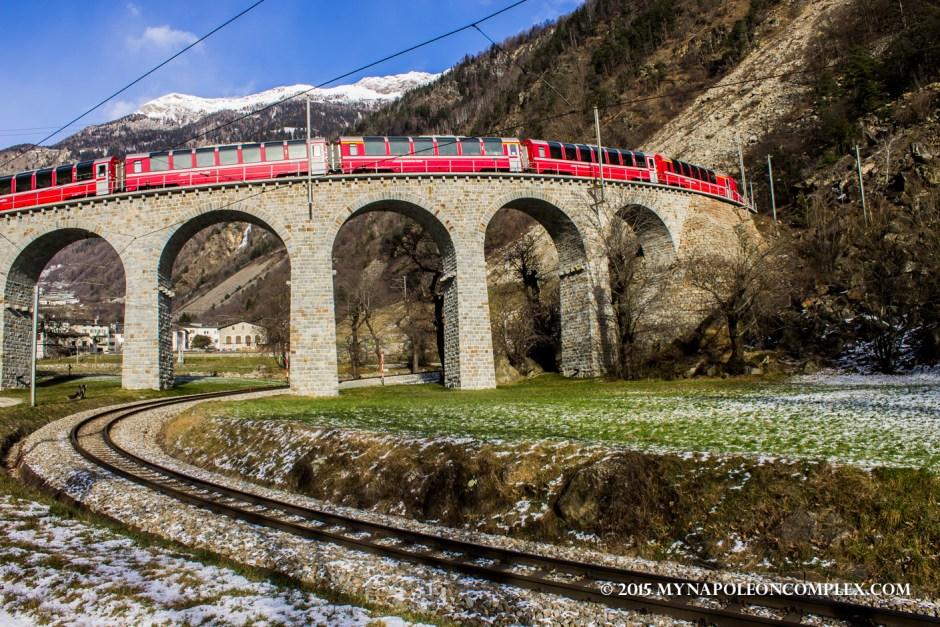 Picture of Brusio Spiral Viaduct, Switzerland