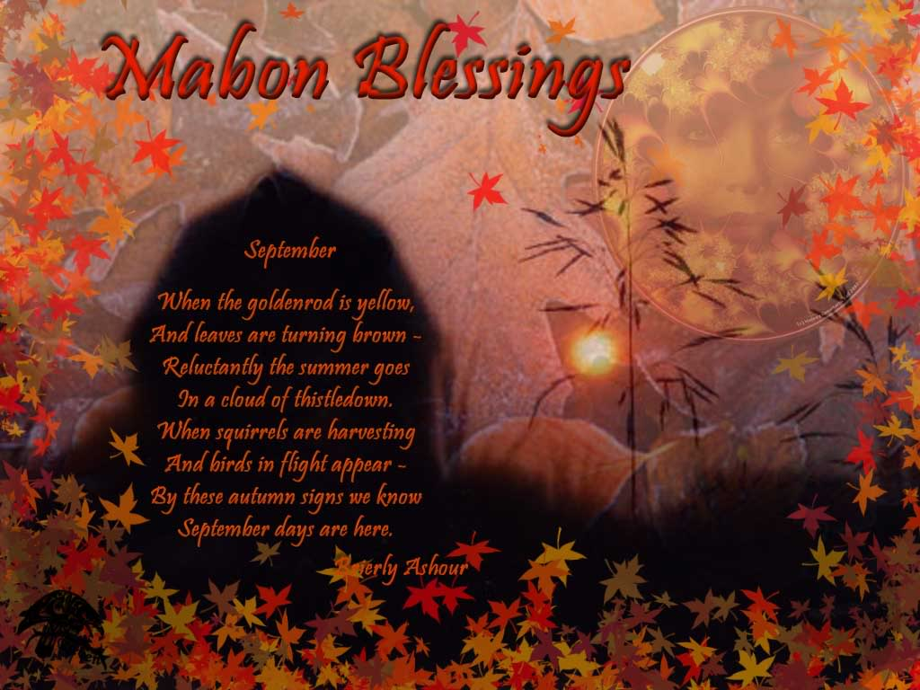 Happy Autumn Equinox/Mabon!