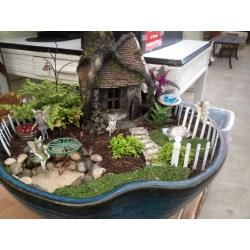 Unusual How To Build A Fairy Fairy Garden Fairy Garden S Photos Fairy Garden S