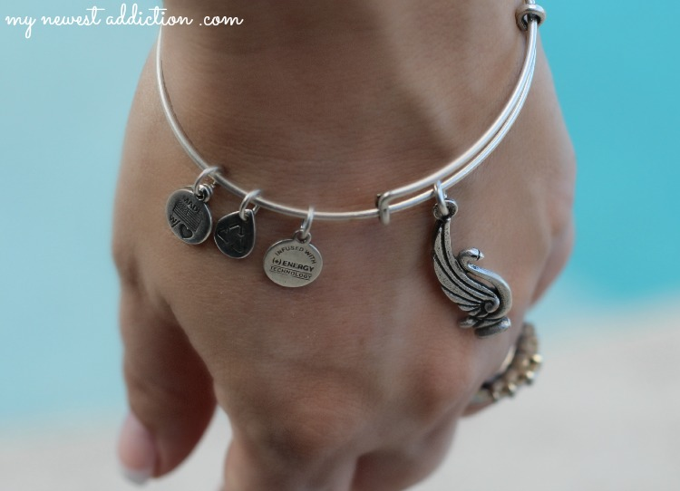 glossybox alex and ani bracelet