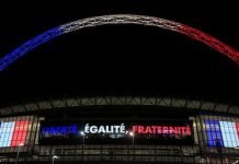 wembley stadium french colours