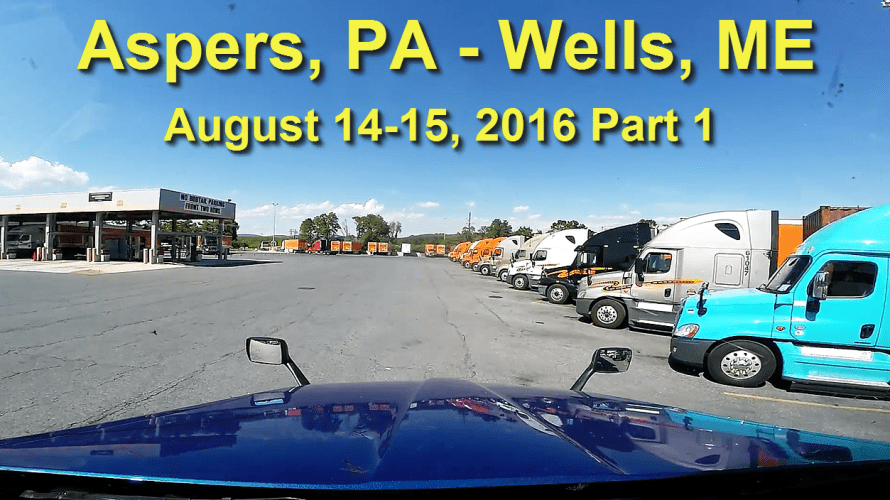 Aspers, PA to Wells, ME Part 1
