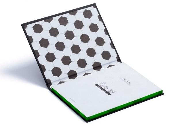 myfootpaperball-football-notebook-green