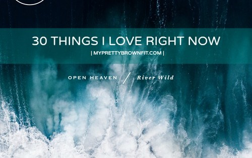 30 Things I Love Right Now - pen HEAVEN  RIVER WILD | My Pretty Brown Fit