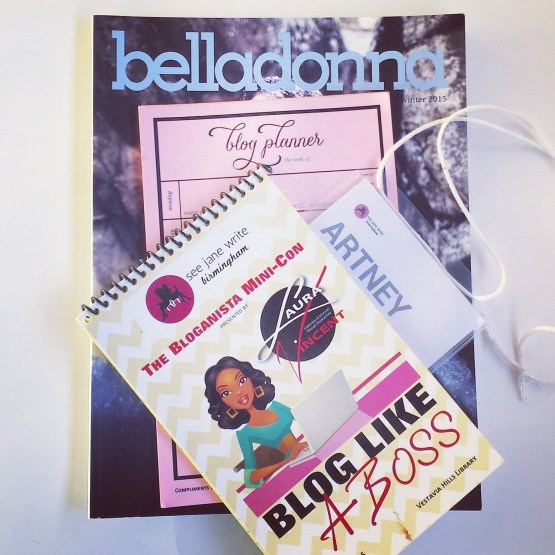 See Jane Write Bloganista MiniCon