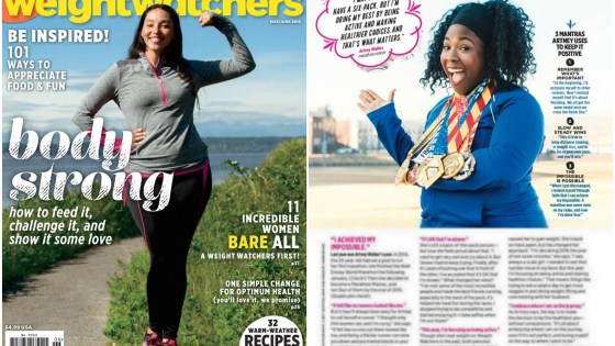 I'm Featured in Weight Watchers Magazine!