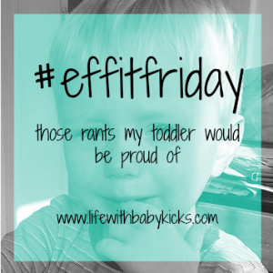 #effitfriday linky