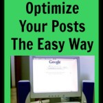 SEO: Optimize Your Posts The Easy Way