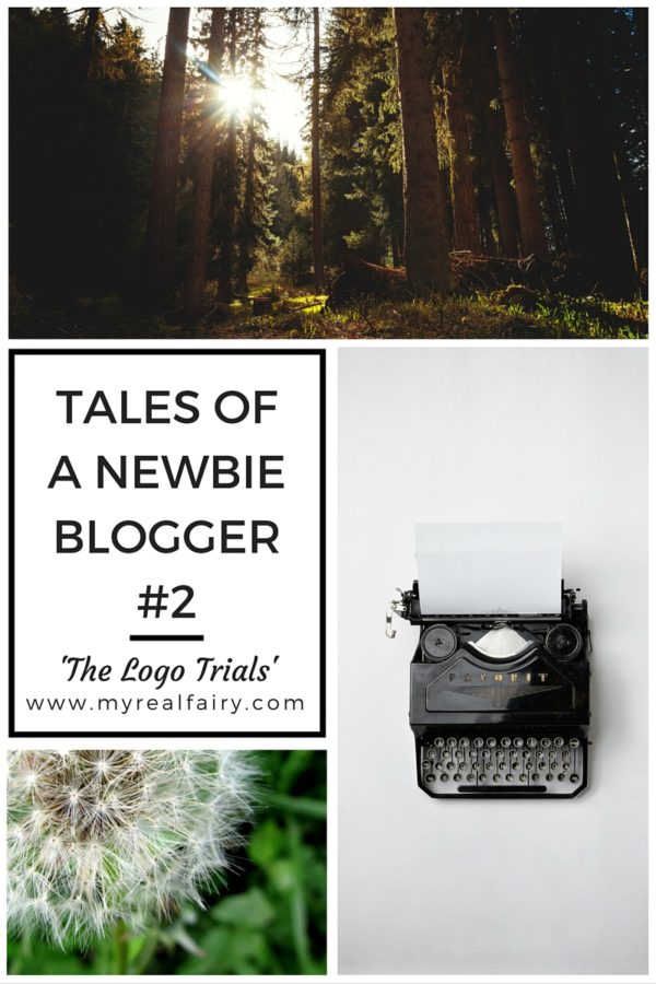 Tales of a Newbie Blogger #2 – the logo trials…