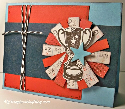 Trophy card by Wendy Kessler