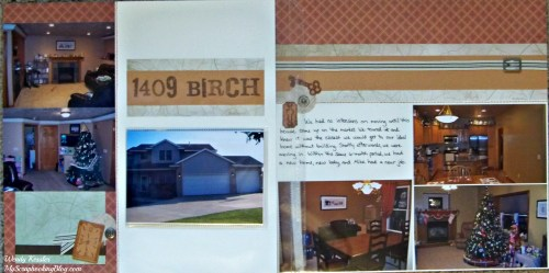 New Home Layout by Wendy Kessler