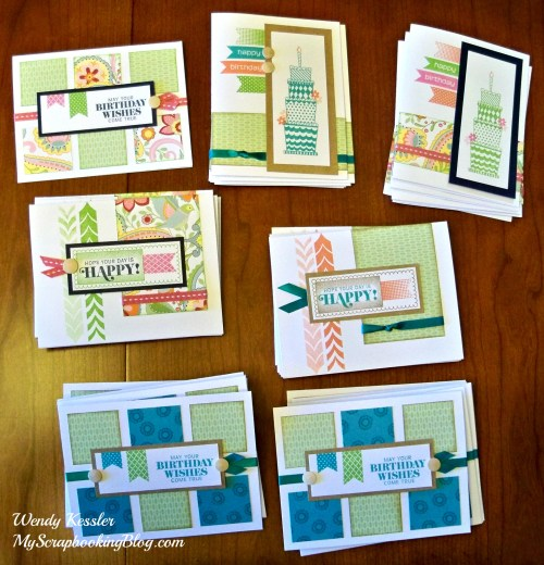 Chantilly Cards by Wendy Kessler