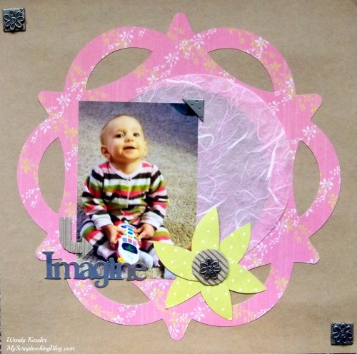 Imagine Layout by Wendy Kessler