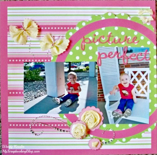 Picture Perfect Layout by Wendy Kessler