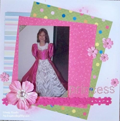 Princess Layout by Wendy Kessler