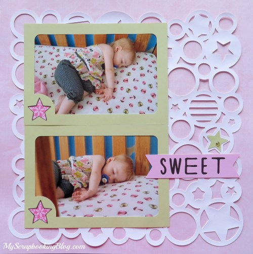 Sweet Baby Layout by Wendy Kessler