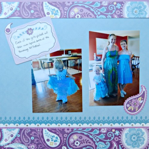 Dresses Layout by Wendy Kessler