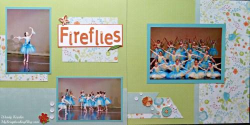 Fireflies Dance Layout by Wendy Kessler