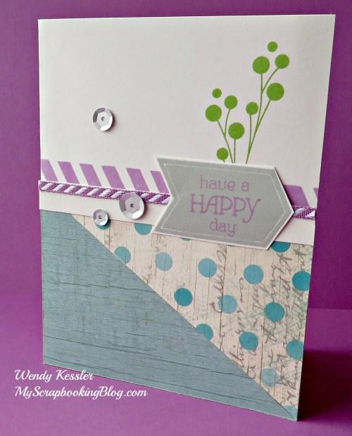 Seaside Card by Wendy Kessler