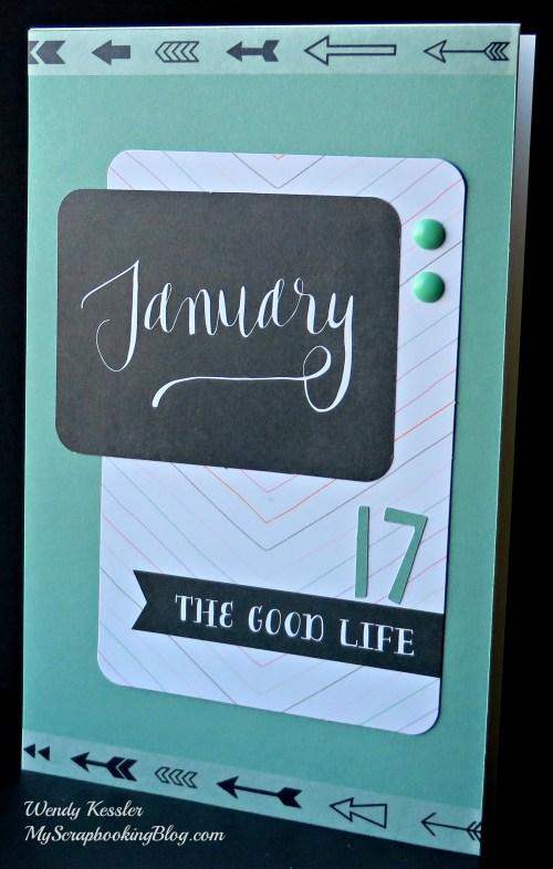 January Card by Wendy Kessler
