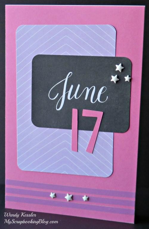 June Card by Wendy Kessler