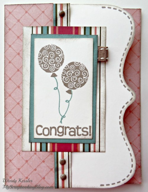 Congrats Card by Wendy Kessler