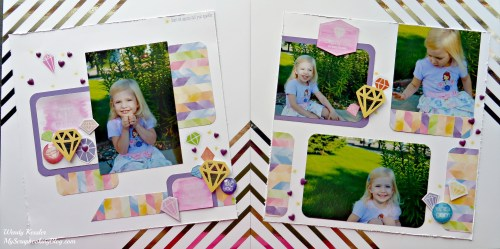 One of a Kind Layout by Wendy Kessler