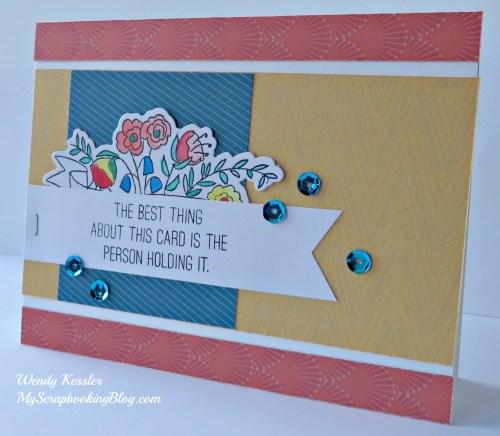 Florence Birthday Card by Wendy Kessler
