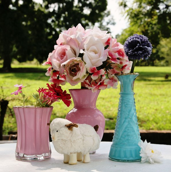 Super Simple And Elegant Painted Glass Vases My So Called Crafty Life