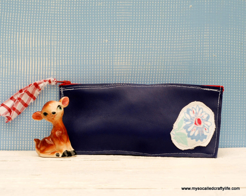 3diy vintage inspired pencil case