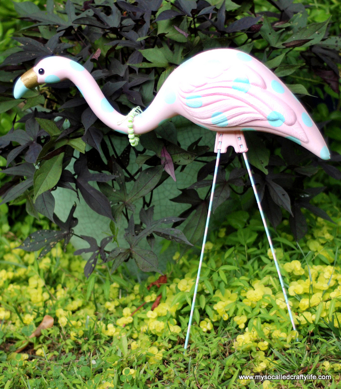 pink flamingo retro revamp