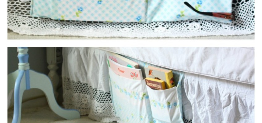Kitschmas Gifts- DIY Bed Caddy