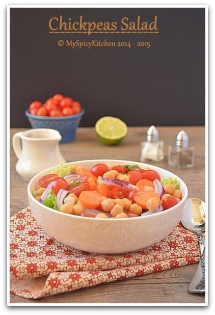 Chickpeas Salad 5