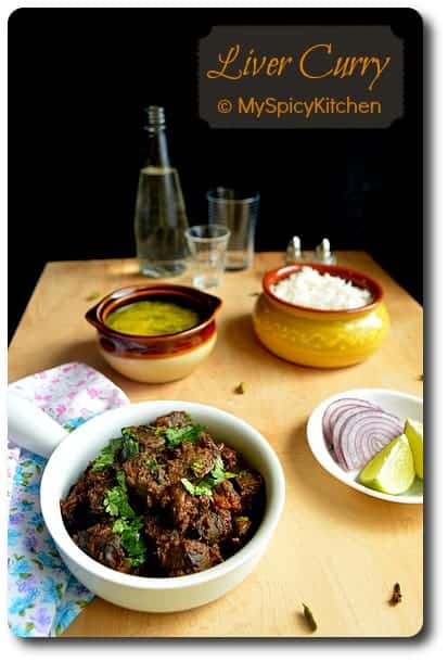 Mutton Liver Fry, Side Dish Mela