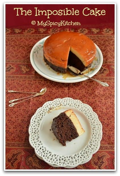 Choco Flan ~ Impossible Cake ~ Mexican Flan Cake in a Pressure Cooker