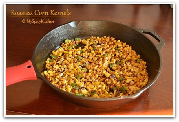 Blogging Marathon, Mexican Street  Corn, Corn Salad