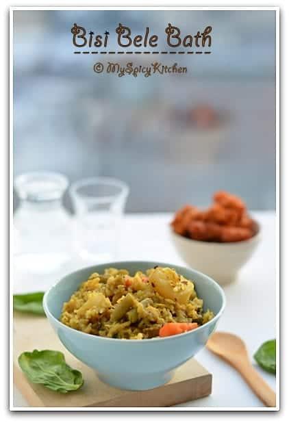 Sambar Rice, Karnataka Cuisine, Blogging Marathon, One pot Meal