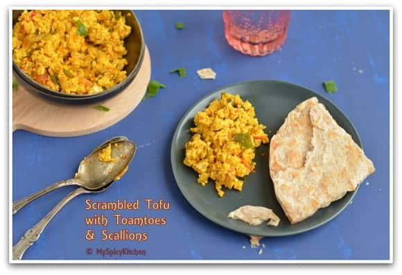 Cooking from Cookbook Challenge, Tofu Bhurji, Tofu Recipe, NYT Tofu recipe