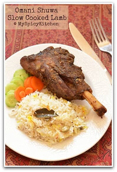 Omani Food, Omani Cuisine, Roasted  Meat, Blogging Marathon, Around the world in 30 days with ABC cooking,